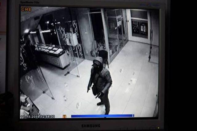 Кадр из камеры наблюдения