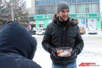 Помогать бездомным Андрей начал совсем недавно.