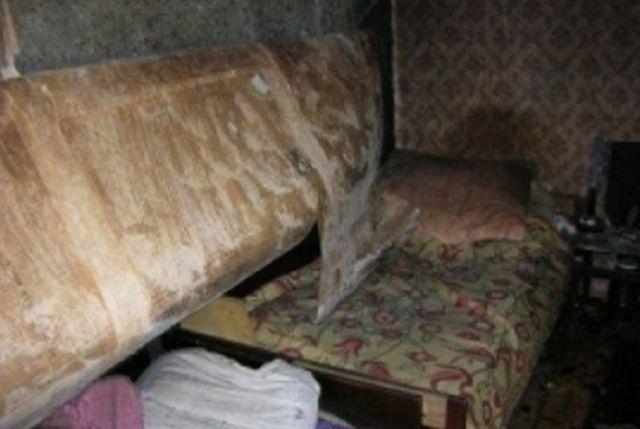 Очагом возгорания стал матрас в спальне.