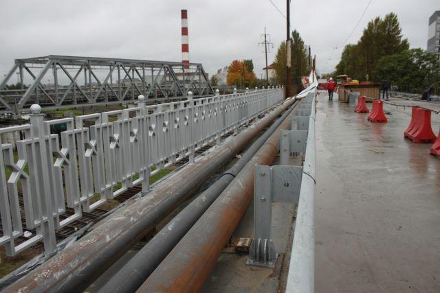 В Калининграде открыто движение по отремонтированному мосту на Суворова.