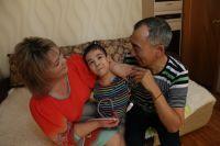 У 11-летнего Руслана Ибраева тяжёлое ДЦП - следствие родовой травмы.