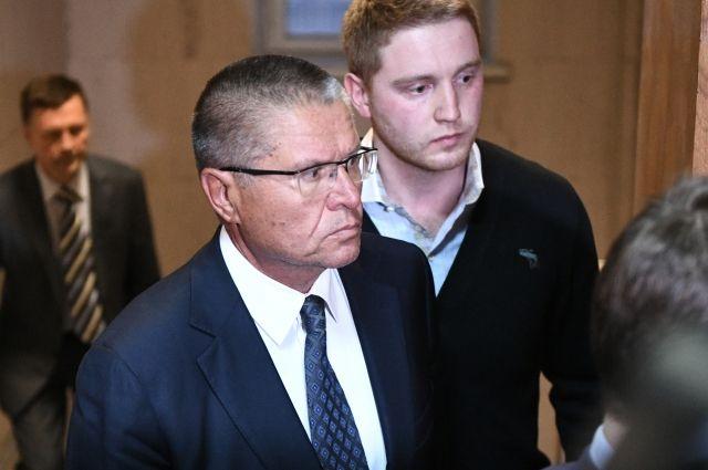 Алексей Улюкаев в Басманном суде Москвы