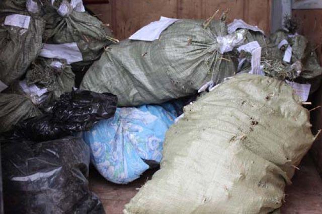 Полицейские отыскали удвоих граждан области 20 килограммов наркотиков