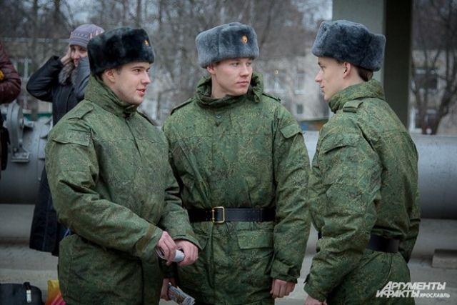 Десять тверских призывников направились служить вПрезидентский полк