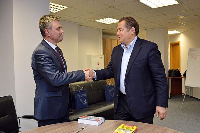 Вадим Красносельский и Сергей Глазьев.