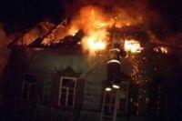 От пожара спасли многодетную семью
