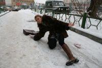 Городские чиновники заявили, что «по тротуарам идёт работа».