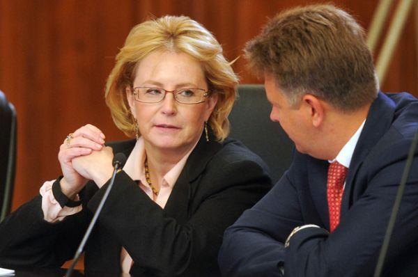 Вероника Скворцова — министр здравоохранения.