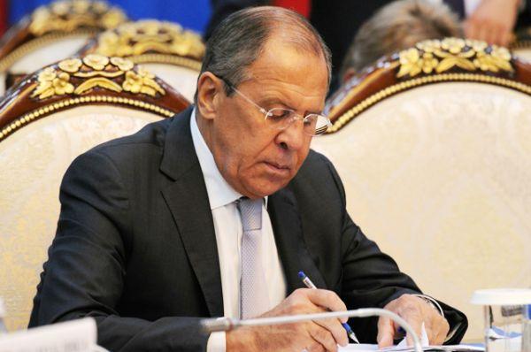 Сергей Лавров — министр иностранных дел.