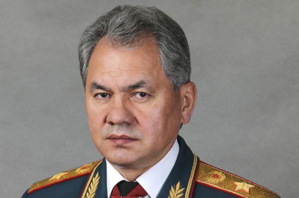 Сергей Шойгу — министр обороны.