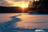 Осенью в Смоленской области уровень снега достиг январской нормы.