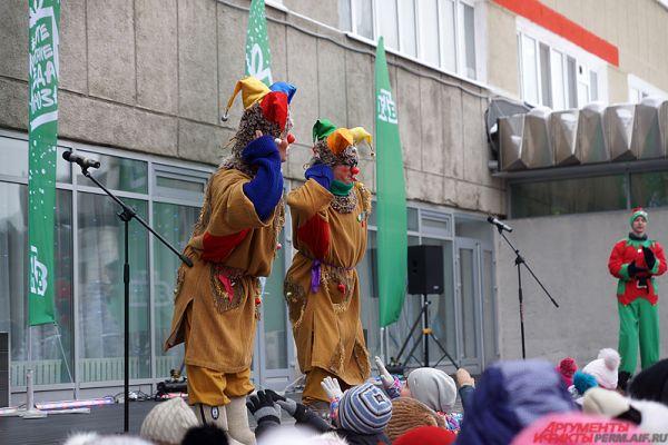 В среду, 16 ноября, в Перми приехал всероссийский Дед Мороз.