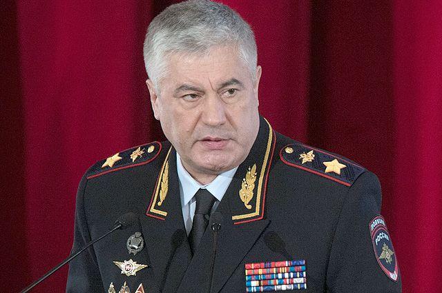 Министр внутренних дел РФ Владимир Колокольцев. Досье