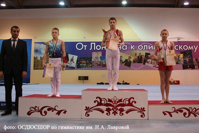 Владислав Лукьянов завоевал серебряную медаль в многоборье.
