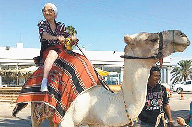 «Я люблю всё новое - могу и на велике, и на верблюде прокатиться!»