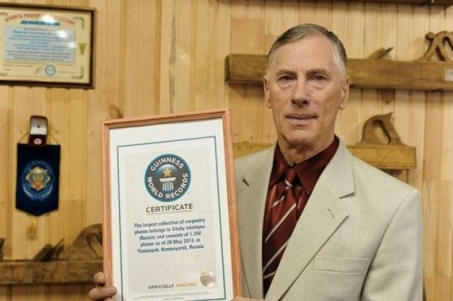 Виталий Ислентьев установил рекорд, открыв первый в России частный музей рубанков.