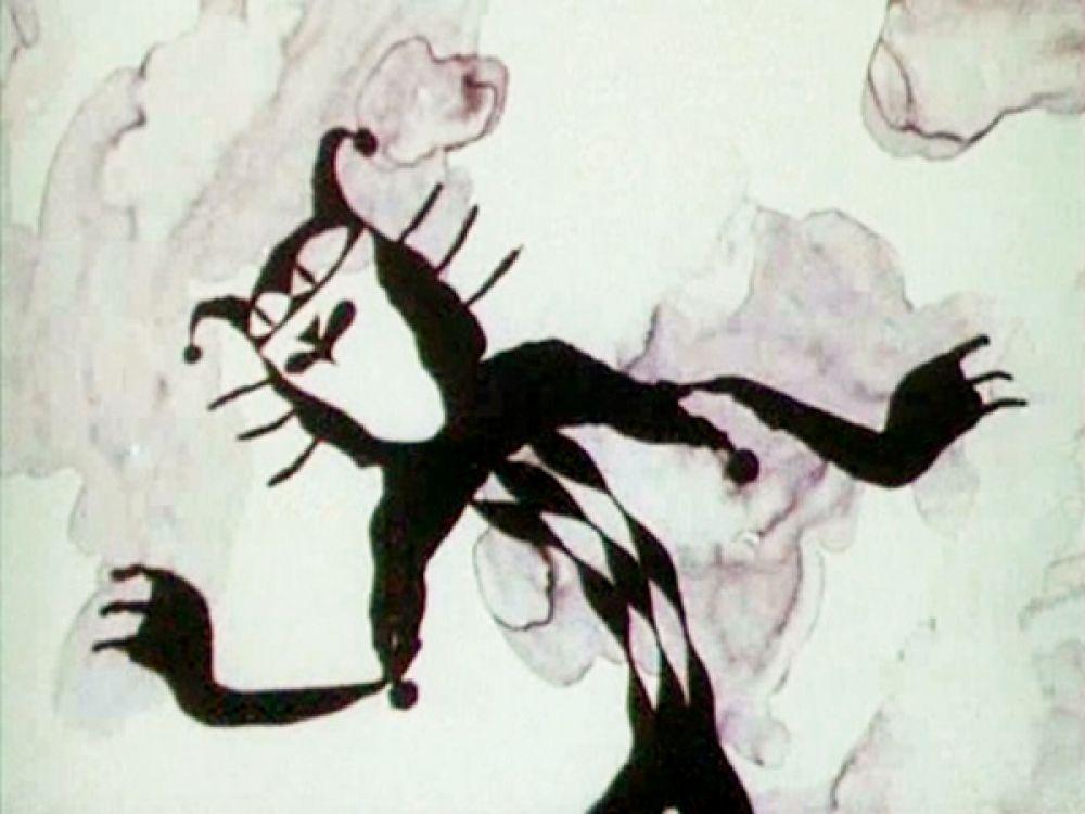 «Я не знаю неудач, потому что я – ловкач» - говорит сам о себе голосом Андрея Миронова весьма коварный кот из мультфильма о голубом щенке. Персонаж изначально чёрного цвета, но умеет за секунду менять окрас. Отдаёт голубого щенка Злому Пирату и помогает поймать моряка, а в конце истории сбегает, видя победу друзей.
