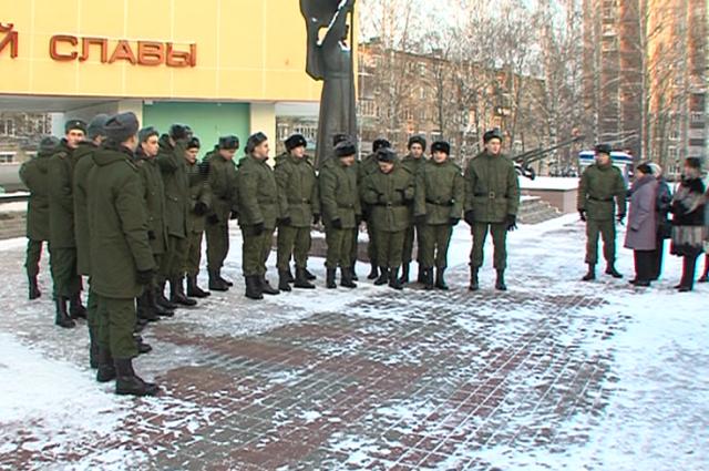 15 волгоградецв отправятся служить вПрезидентском полку