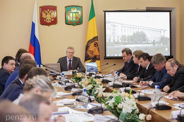 Заседание Штаба прошло в областном правительстве.