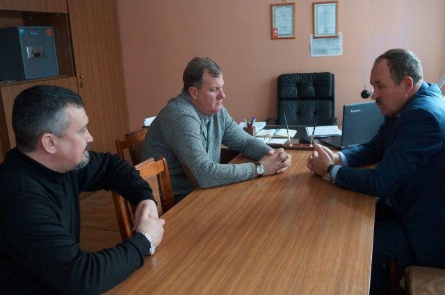Слева направо: Руслан Минаев, Олег Игумнов, Михаил Резников