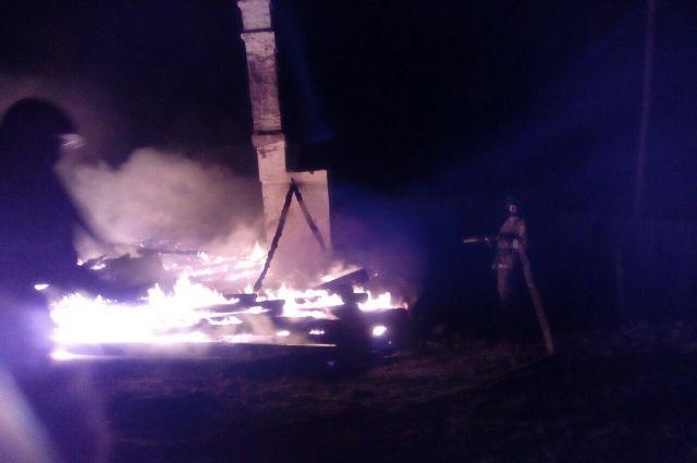 Начальная школа сгорела вЭхирит-Булагатском районе