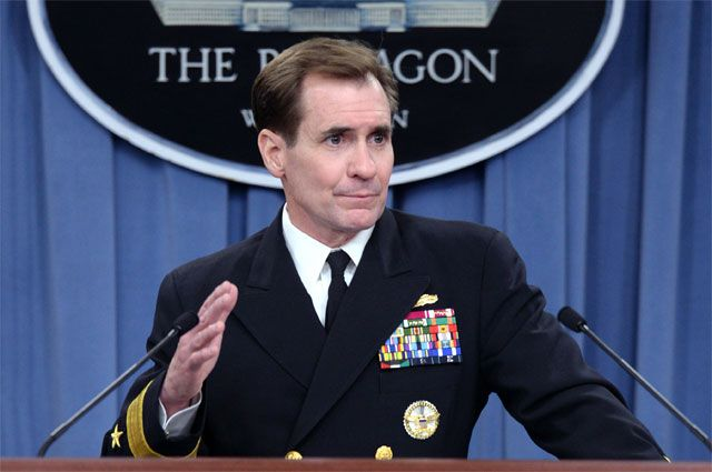 Официальный представитель Госдепартамента США Джон Кирби.