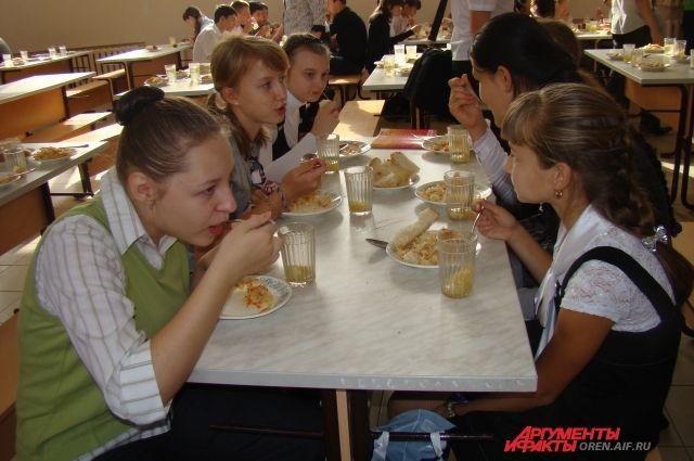 Ни один школьник в Акбулакском районе не остался без завтрака и обеда.