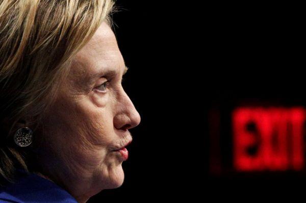 На мероприятии Клинтон призналась, что ей было нелегко выйти в люди.