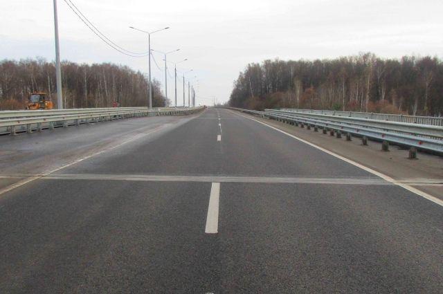Трассу М-2 «Крым» вТульской области отремонтировали начетырех участках