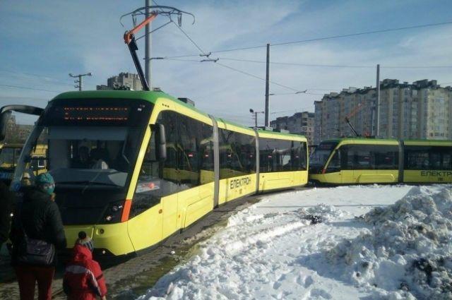 ВоЛьвове запустили долгожданный трамвай наСихов