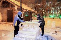 Чистоту территории вокруг снежного городка также будут учитывать.