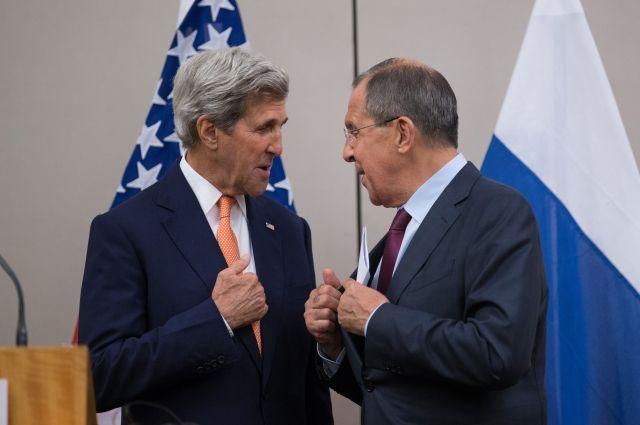 Лавров иКерри обсудили потелефону ситуацию вокруг Алеппо