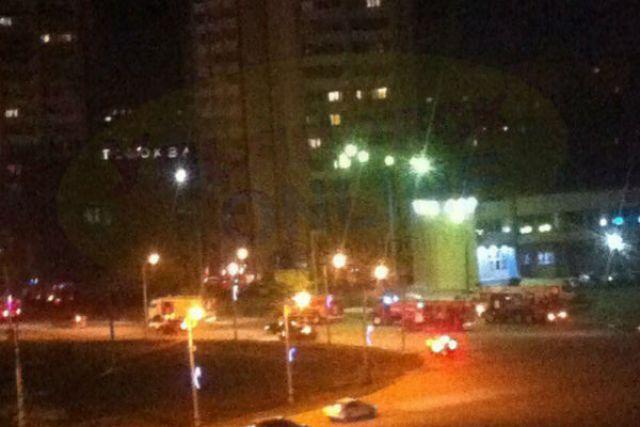 Ночной пожар наМосковском шоссе вУльяновске тушил 31 человек