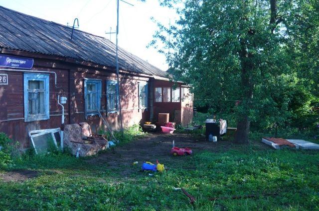 Тот самый дом на окраине Тулы, где жила убитая семья