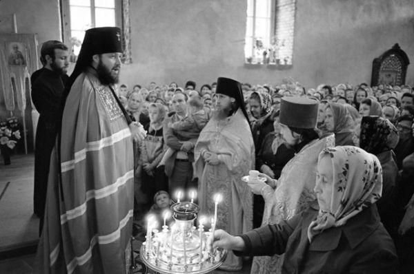 Освящение храма святого Николая в Калининграде. 22 мая 1987 года.