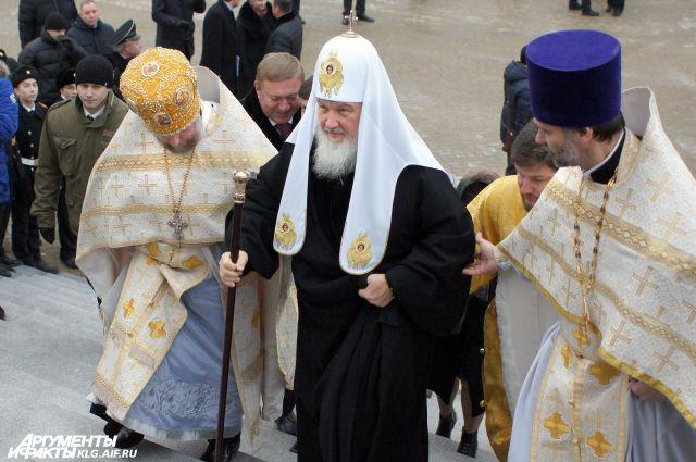 В конце ноября Патриарх Кирилл посетит Калининград для освящения храма.