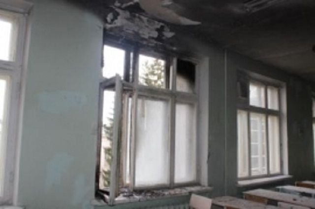 Впроцессе пожара вшколе Пензенской области эвакуировали 100 учащихся