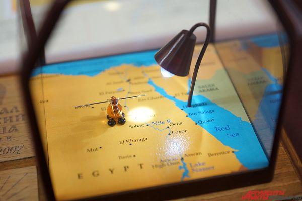 Большая часть из миниатюр--«невидимок» представлена в Санкт-Петербургском музее микроминиатюры «Русский Левша» международной гильдии мастеров.