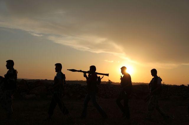 Минобороны поведало обобстреле боевиками вышедших намитинг вАлеппо
