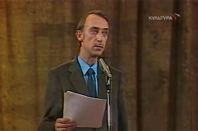 Поэт-пародист Александр Иванов.