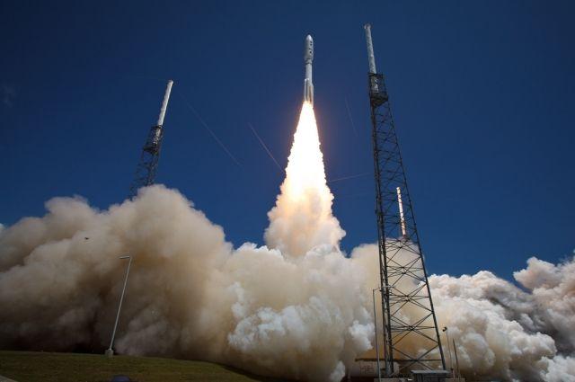 ВСША запустили ракету-носитель Atlas Vсметеоспутником обновленного поколения