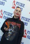 Певица Наргиз наXXI Церемонии вручения национальной музыкальной премии «Золотой граммофон» вСК«Олимпийский» вМоскве.