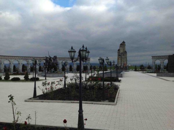 В Назрани Мемориальный комплекс жертвам репрессий