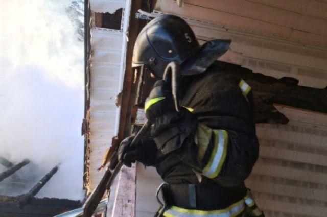 В городе участились пожары в частных домах