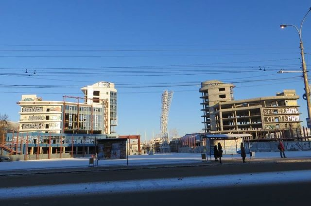 «Башни-близнецы» наплощади Труда и«Яр-сити» уАвтовокзала все-таки достроят