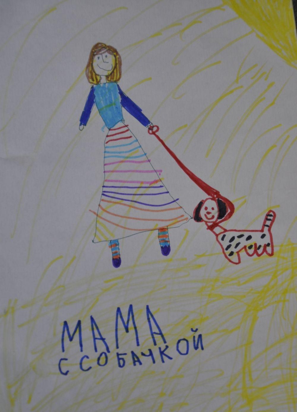 Участник №27. «Моя мамочка добрая, улыбчивая, работливая! Больше всего люблю субботы, потому что утром в субботу она дома и печёт блины. А вечером рассказывает сказки, которые сама придумывает».