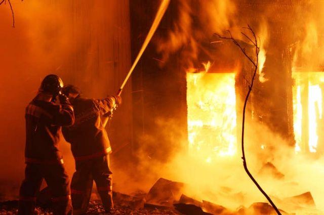 ВОдесской области врезультате сильного возгорания погибла семья