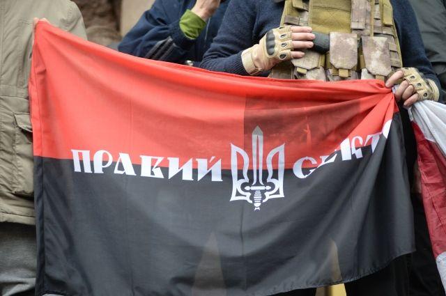 В «Правом секторе» сообщили онападении наихштаб вЛуганской области