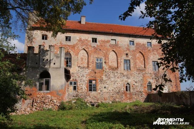 В Черняховске обокрали старинный замок Тевтонского Ордена.