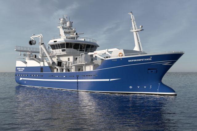 На заводе в Калининграде заложат траулер «Командор» для камчатских рыбаков.